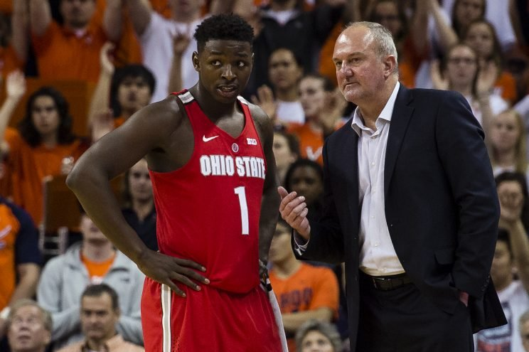 Ohio State has been mired in a four-year downward slide interrupted only by D'Angelo Russell. (Getty)
