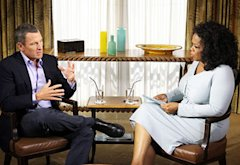 Lance Armstrong and Oprah Winfrey   Photo Credits: George Burns/OWN