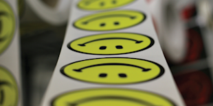A Catchy Catch Phrase to Hinder Customer Centric Leadership image happy face stickers 600px