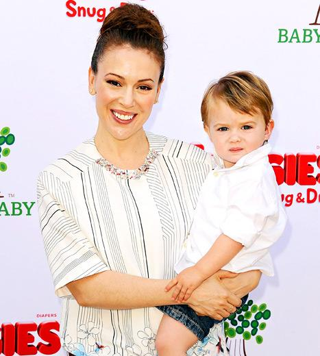 Alyssa Milano Pumped Breast Milk Every Two Hours On Set of Mistresses