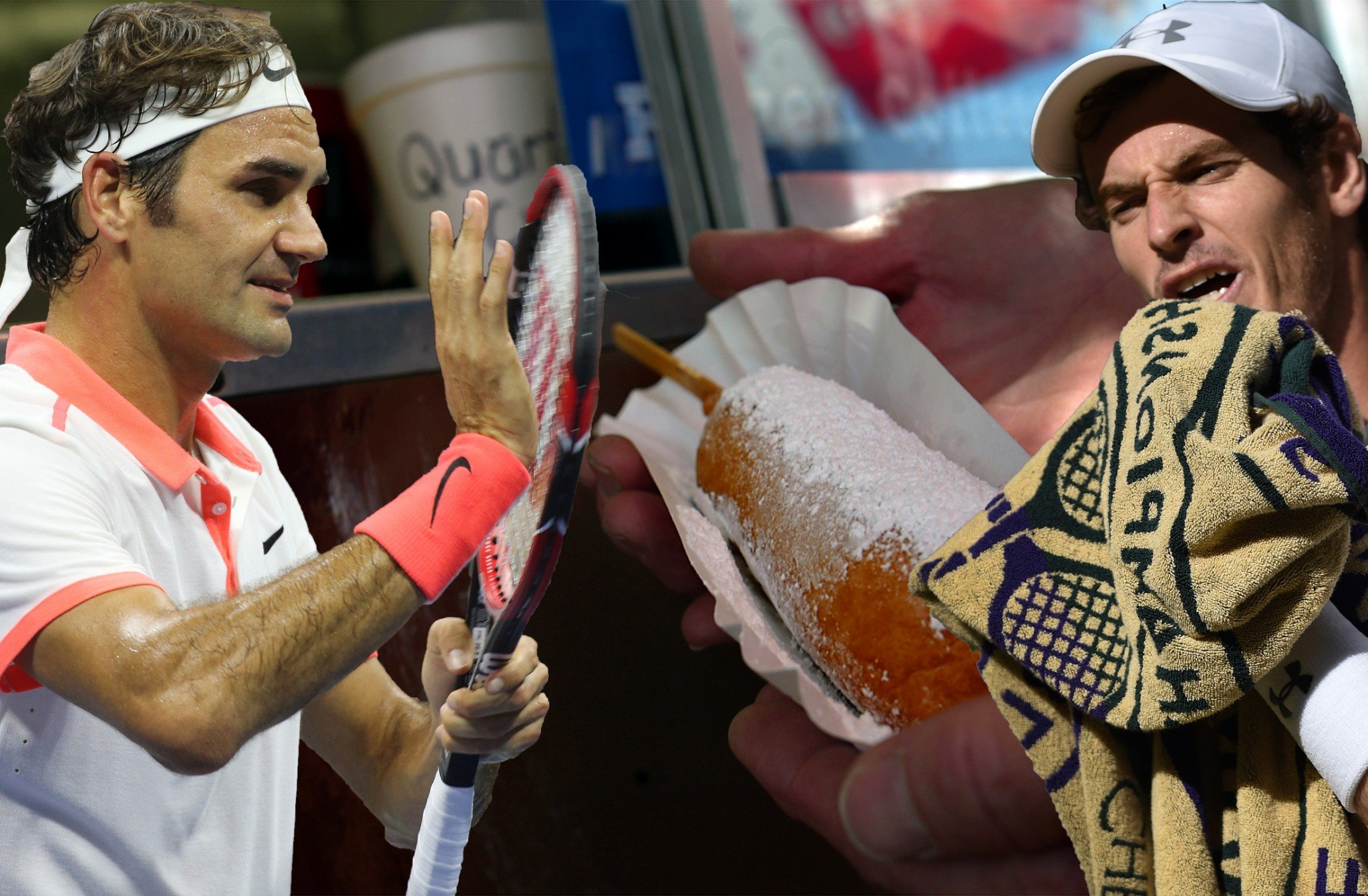Andy Murray tried fried a fried Mars Bar once - and hated it