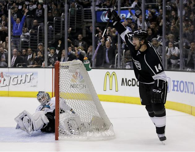LA Kings avoid elimination in 6-3 win over Sharks