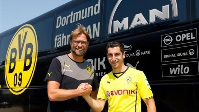 Bundesliga - Liverpool's 'past' not enough for Mkhitaryan