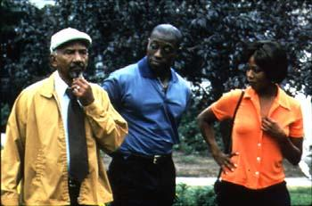 Al Freeman, Jr. , Wesley Snipes and Alfre Woodard in Down In The Delta