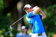 Rory McIlroy of Northern Ireland at The Players Championship on May 11. McIlroy is confident he has the game to see off his rivals and hang onto his title as the world's best golfer