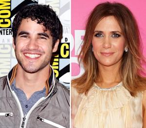 Darren Criss, Kristen Wiig -- Getty Images