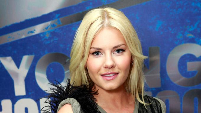 Elisha Cuthbert Visits Young Hollywood Studio