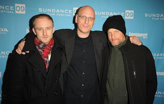 Sundance Film Festival Screening 2009 Ben Foster Oren Moverman Woody Harrelson