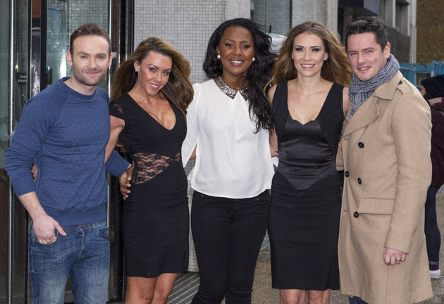 Michelle Heaton and her Liberty X bandmates