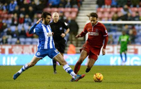 Soccer - Sky Bet Championship - Wigan Athletic v Charlton Athletic - DW Stadium