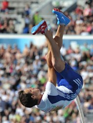 Home fans in Paris will delight in seeing Renaud Lavillenie (pictured on July 1) in the pole vault, fresh from defending his European title in Helsinki. Lavillenie will be up against German rival Bjorn Otto on Friday, and fans can only hope that the duo reproduce that classic of a competition in the Finnish capital