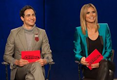 Zac Posen and Heidi Klum | Photo Credits: David M. Russell/AETN