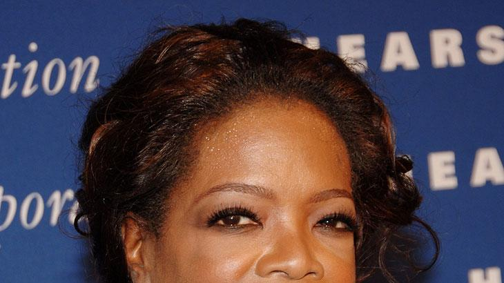 Oprah Winfrey at the inauguration of the Brand New Hearst Tower.