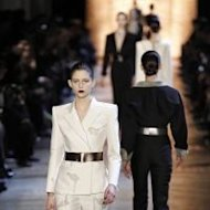 Yves Saint Laurent Fall/Winter 2012-2013 ready-to-wear collection show