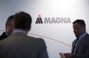 Magna International annual general meeting in Toronto, May 10, 2012. THE CANADIAN PRESS/Aaron Vincent Elkaim
