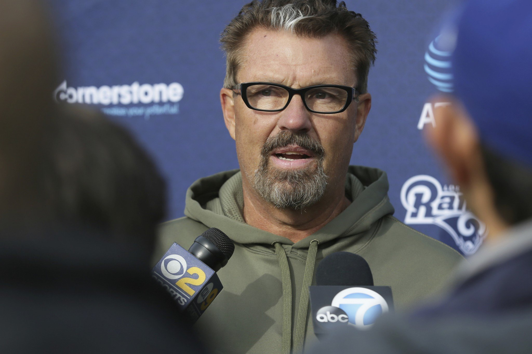 Gregg Williams has been hired to run the Cleveland Browns defense. (AP)