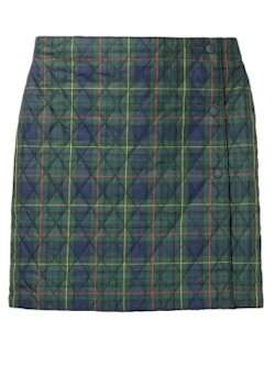 Uniqlo warm lined check mini skirt
