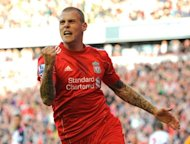 Liverpool defender Martin Skrtel, pictured in 2011, insisted Thursday he is looking forward to the upcoming Premier League season, playing down reports that he is being targeted by Manchester City