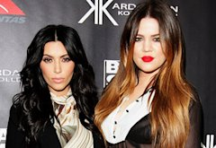 Kim Kardashian and Khloe Kardashian Odom  | Photo Credits: Lisa Maree Williams/Getty Images
