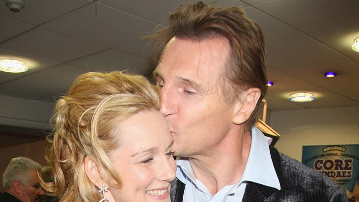 London Film Festival 2008 Laura Linney Liam Neeson The Other Man Premiere