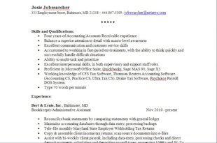 3 Quick Tips To A Simpler, More Effective Resume Format image resume snip 600x396