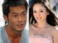 Joe Chen is dating Louis Koo