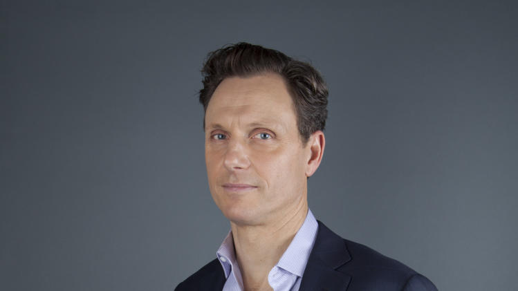 "This Jan. 30, 2013 photo shows actor Tony Goldwyn from the ABC television series ""Scandal"" in New York. Goldwyn portrays President Fitzgerald Grant, who is having an affair with his former communications director, Olivia Pope, portrayed by Kerry Washington. (Photo by Amy Sussman/Invision/AP)"