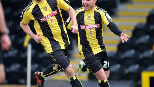 League Two - Burton Albion up to second