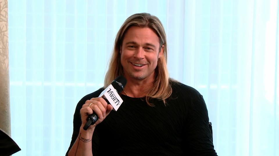 Brad Pitt Talks World War Z 2 Movie – TIFF 2013