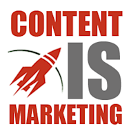 Content IS Marketing image content is marketing