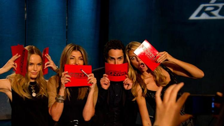 I love how @heidiklum calls these type of photos: silly photos :-) well as you can tell we had a lot of fun! @ProjectRunway