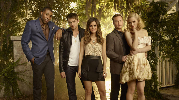 "The cast of ""Hart of Dixie."""