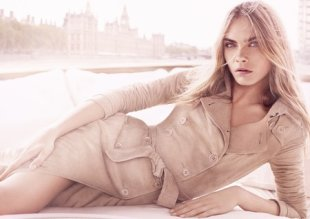 Cara Delevingne for Burberry Body Tender