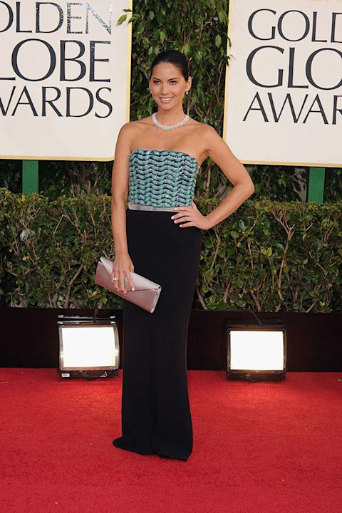 70th Annual Golden Globe Awards - Arrivals: Olivia Munn