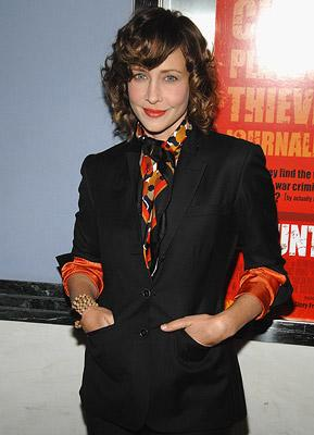 Vera Farmiga at the New York premiere of The Weinstein Company's The Hunting Party
