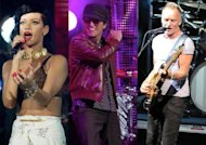Rihanna, Bruno Mars et Sting chanteront ensemble aux Grammy Awards