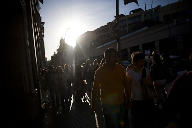 Spain Continues To Struggle With The Economic Crisis