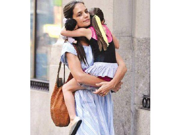 Katie Holmes: This hands-on mom has the paparazzi chasing her and is constantly accused of raising a brat and fashionista, Suri Cruise. Women across the globe think she spends too much on her child's