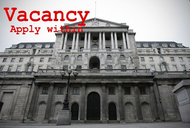 The Bank of England is looking for a new governor. Image: Carl Court/PA Wire