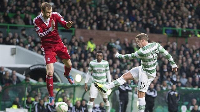 Scottish Premiership - Celtic strike twice in injury-time to snatch victory
