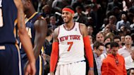 2013-14 NBA, New York Knicks, Carmelo Anthony (AFP)