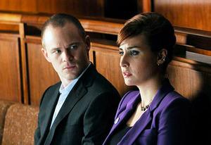 Aaron Ashmore and Allison Scagliotti | Photo Credits: Steve Wilkie/Syfy