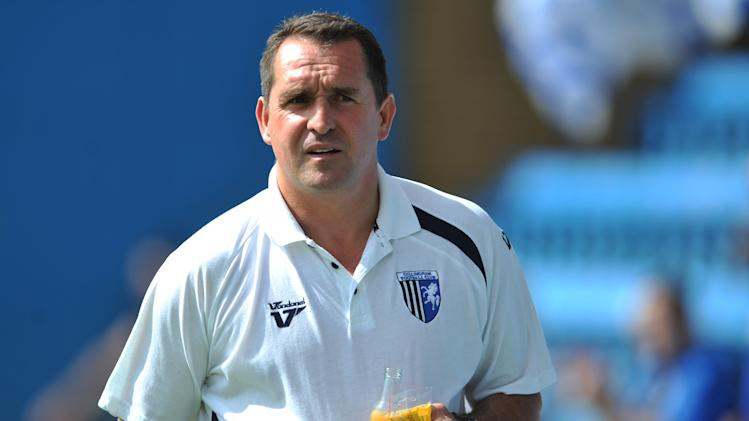 Martin Allen is delighted with Gillingham's progress
