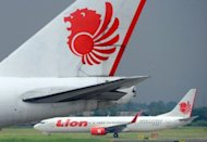A Lion Air airplane lands at Sukarno Hatta airport in Tangerang in February 2012. US aerospace giant Boeing confirmed a commitment from Indonesia's Lion Air to buy five 787-8 Dreamliners for its new subsidiary