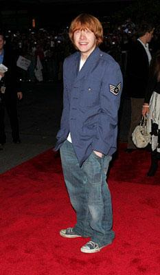 Rupert Grint at the NY premiere of Warner Bros. Pictures' Harry Potter and the Goblet of Fire