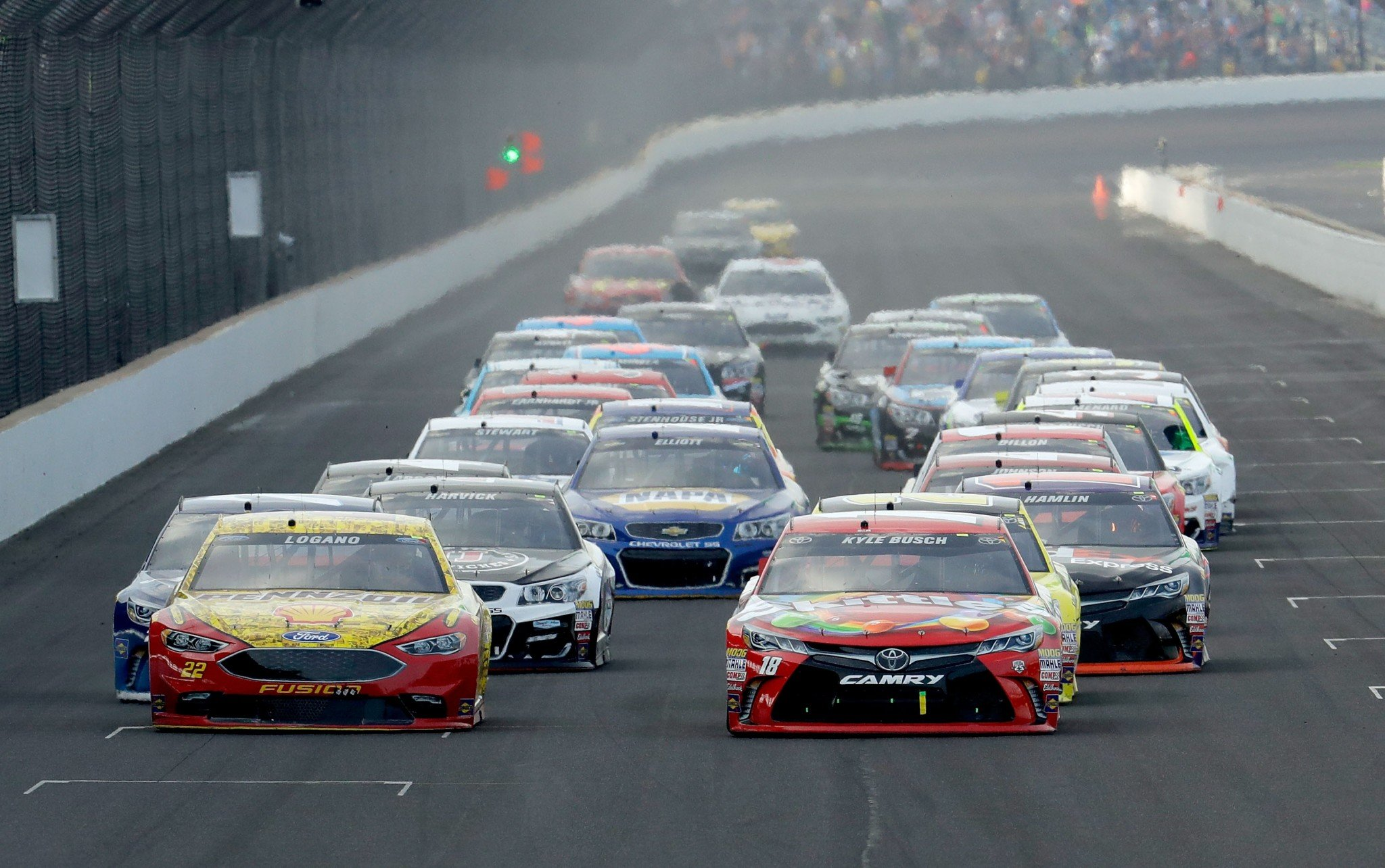 Many NASCAR races are starting later in 2017 (Getty).