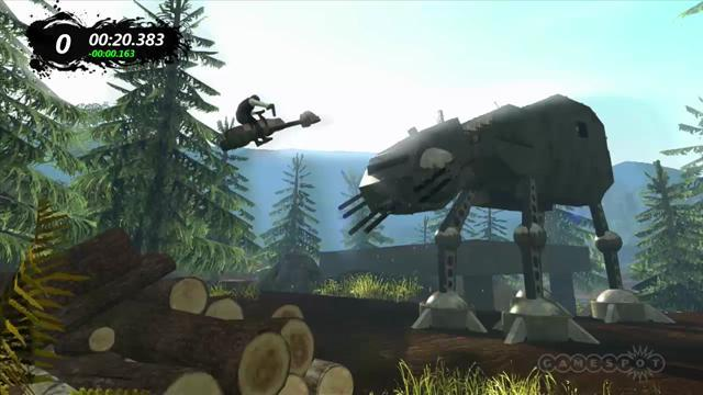 Trials Evolution - Star Wars Endor Gameplay
