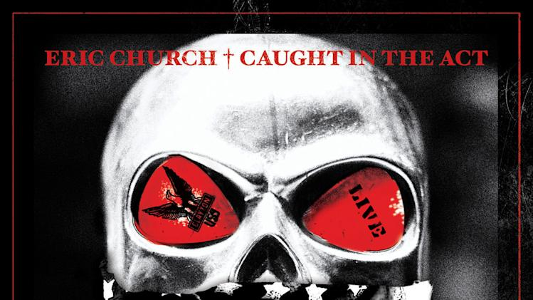"This CD cover image released by Xenon shows ""Caught in the Act,"" by Eric Church. (AP Photo/Xenon)"
