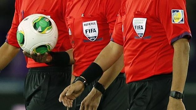 FIFA referee, generic (Reuters)
