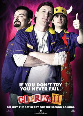 Brian Christopher O'Halloran , Jeff Anderson and Trevor Fehrman star in MGM/The Weinstein Company's Clerks II